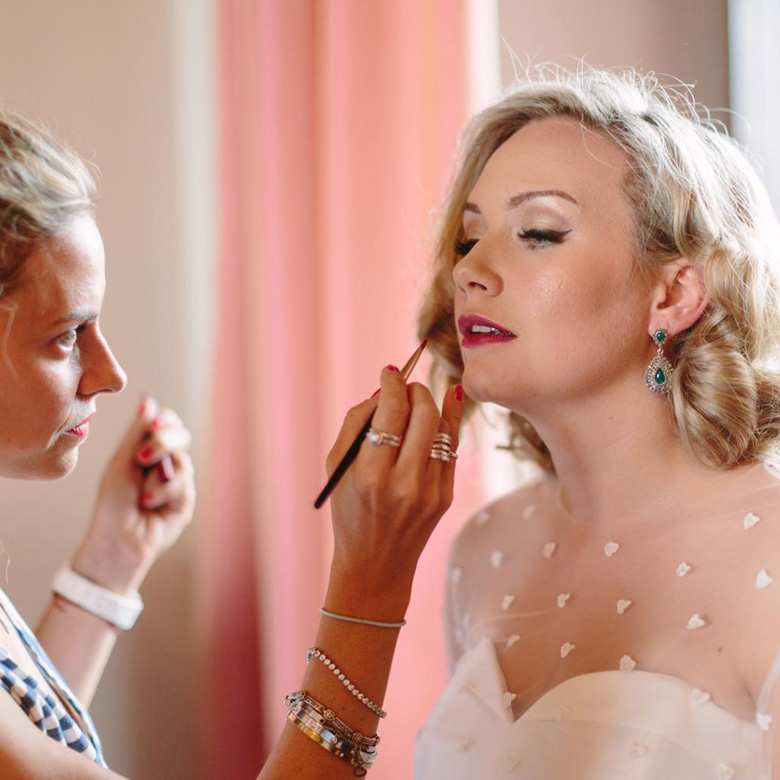 Makeup for the most important day of your life