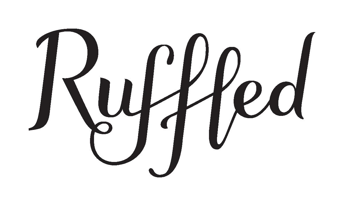 Ruffled logo
